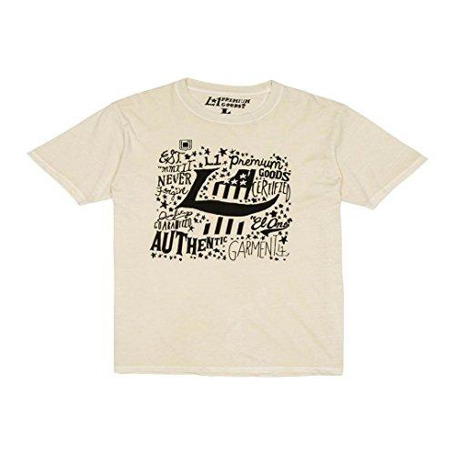 Nitro Snowboards L1 Authentic Logo Camiseta, Hombre, Blanco, L