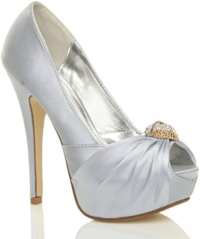 ajvani wo  mesdames mesdames mesdames bridal mariage les escarpins chaussures sandales à talon haut tribunal de taille b00l3gp24y parent | Laissons Nos Produits De Base Aller Dans Le Monde  7bbda7