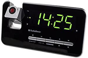 Audiosonic CL-1492 Radio/Radio-réveil