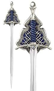 Hobbit Gandalf Schwert Glamdring The Noble Collection Dekoschwert mit Wanddisplay 120 cm