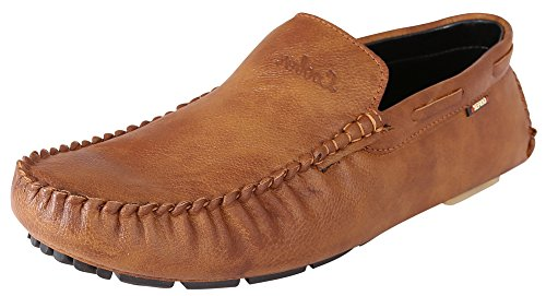 Marshal Loofer Men's Tan Synthetic Leather Casual Loafers 13 UK