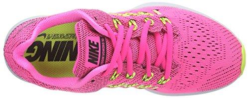 Nike  Air Zoom Vomero 10, Chaussures de course femmes multicolore (Pink Pow/Black-Liquid Lime-Vlt)