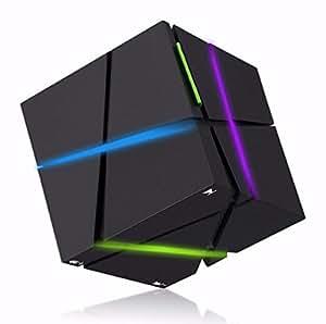 Buwico® Mini Portable Cube Design Enceinte Bluetooth Musique sans fil stéréo Bluetooth 2.1 Speaker pour iPhone,Tablets PC , telephone Android