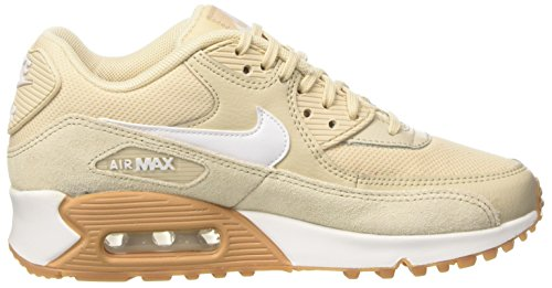Nike Damen Wmns Air Max 90 Turnschuhe Beige (Oatmeal/white/gum Light Brown)