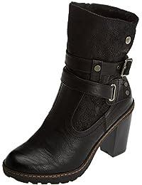 Amazon.es: Botas Comodas Mujer - 8 - 11 cm / Zapatos para ...