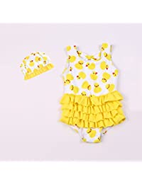 f2515c619 Sunny Niñas Trajes de baño Niños Una Pieza Ropa de Playa Fiesta Nadando  Disfraz (Tamaño