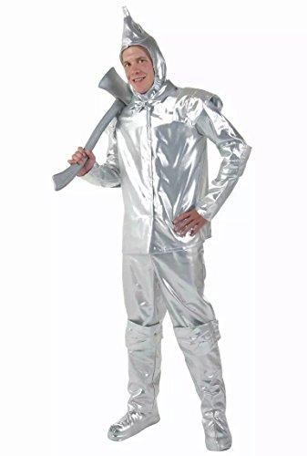 osplay Anime Oz Tin Man Erwachsene Kinder passen einheitliche Bühnenshow , # 2 (Tin Man Kostüm Zauberer Von Oz)