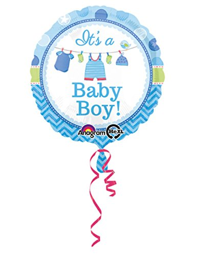 amscan 309001 IT 'S A Boy Folie Ballons