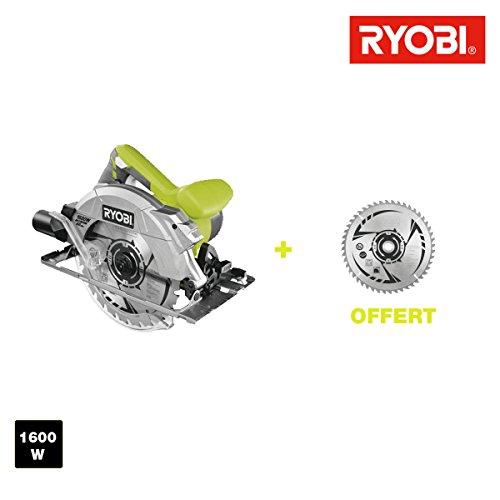 Kreissägeblatt Ryobi 1600W 66mm–2Klingen 48Zähne rcs1600-k2b (Ryobi Schlüssel)
