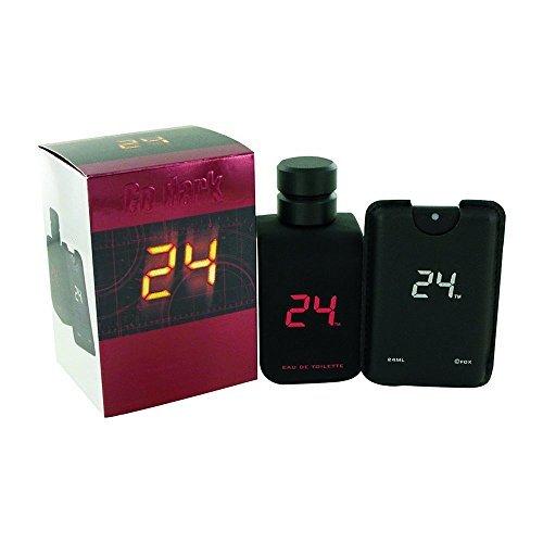ScentStory Beauty Gift 24 Go Dark The Fragrance Cologne 3.4 oz Eau De Toilette Spray Plus .8 oz Mini Pocket Spray for Men by SCENTSTORY