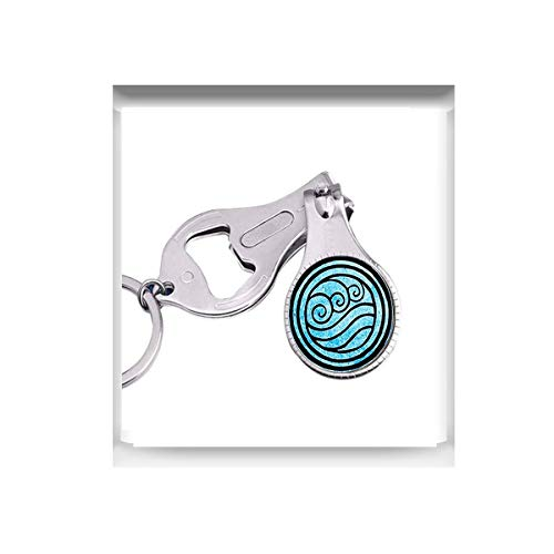 r Nagelschere mit Wasserstamm für Halsketten, Nagelschere ()
