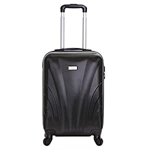 slimbridge ferro 55cm dur 4 roues valise cabine noir bagages. Black Bedroom Furniture Sets. Home Design Ideas