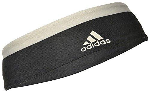 adidas ADYG-30221BKWH Banda de Pelo, Negro, Única