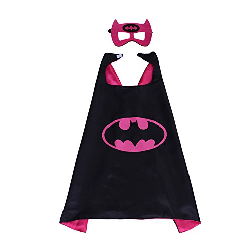 Kinder-Umhang mit Superhelden-Muster, Hammer Robin, für Jungen und Mädchen, Kostüm (Kostüm Muster Für Kinder)