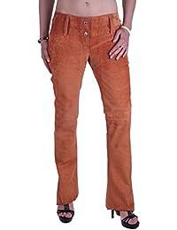 Dolce gabbana _amp; femme en daim#19 taille 38 (orange)