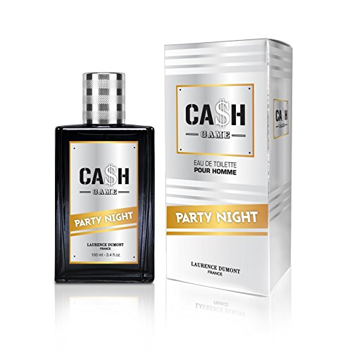 CASH Game Eau de Toilette Night pour Homme 100 ml