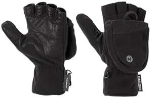 Marmot Herren Handschuhe Windstopper Convertible, Black, S, 15440-001