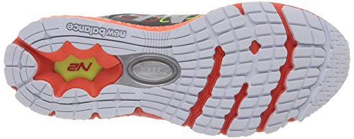 New Balance Men's M1260 NBX Running Shoe,Grey/Orange,15 D US Grey / Orange