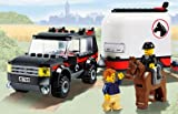 Lego City Limited Edition Set #7635 4WD With Horse Trailer by LEGO - LEGO