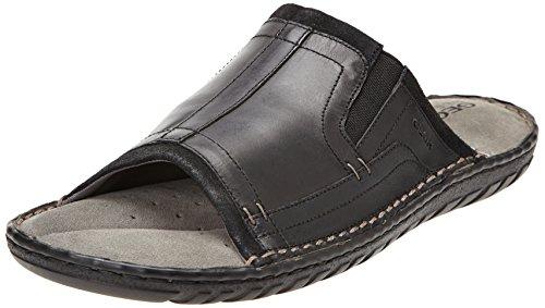 Geox  U Rufus C,  Sabot/sandali uomo Nero Black (nero) 40