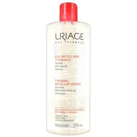 Uriage Acqua Micellare Termale Per Pelle Arrossata 500ml