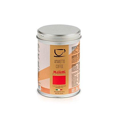 Lattina di caffè macinato aroma Amaretto 125 g