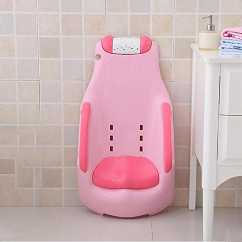 XISHU Kinder Shampoo Stuhl Umweltschutz Material Faltbar Shampoo Cup schicken Augen schützen Vermeiden Sie Baby Weinen , Pink
