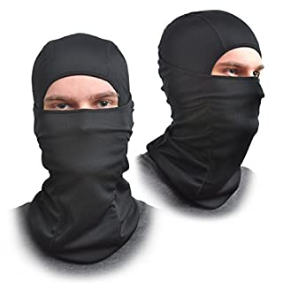 AFA Tooling [2 Pack] Balaclava Face Mask - One Size Fits All Elastic Fabric