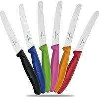 Victorinox Brötchenmesser-Set, 6 Stück, farbig