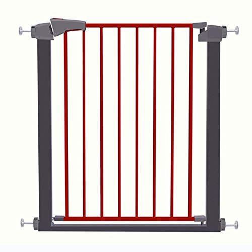 WSSF- Auto-Close Child Stair Valla de Seguridad Valla Pet Dog Gate Barandilla...