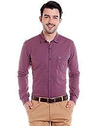 Donear NXG Mens Formal Shirt_SHIRT-2362-ORANGE