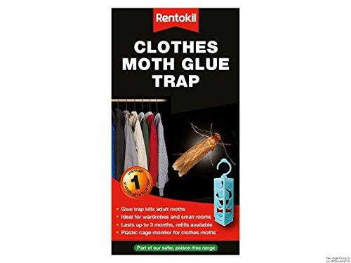 Rentokil FMP13 - Colle piège anti-mites Emballage d'origine