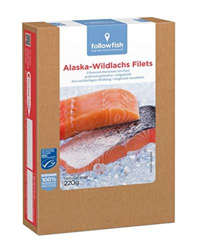 Followfish - Alaska Wildlachsfilets TK - 220g