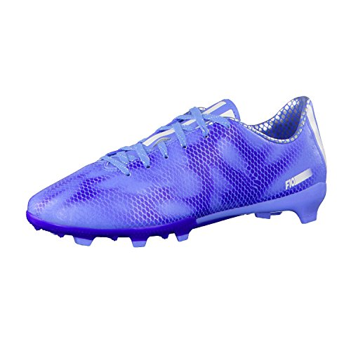 adidas Damen Fussballschuhe F10 FG Lucky Blue/Ftwr White/Night Flash 40