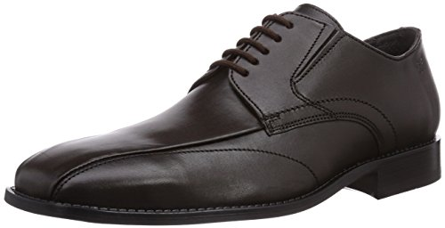 Fretz Men Gregory, Derbies à lacets homme Marron - Braun (59 mokka)