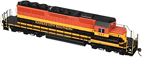 Bachmann Industries EMD SD40 2 DCC Kansas City Southern #691 Ready Locomotive (HO Scale)