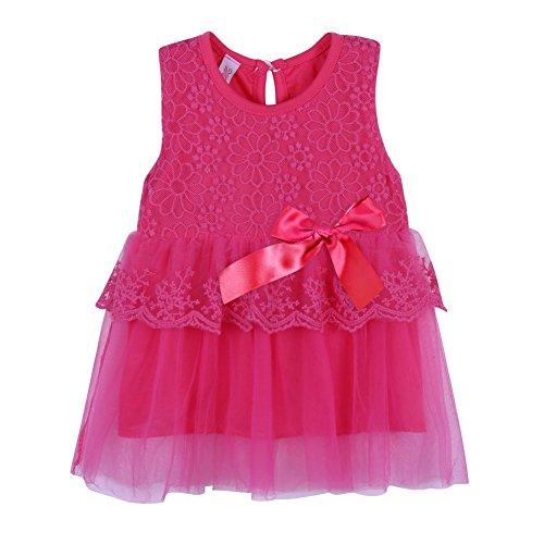 Red Tutu Kind - Brightup Kinder Mädchen Prinzessin Party Hochzeit