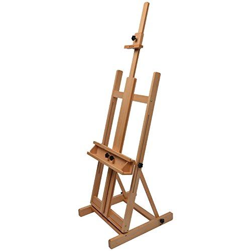 Artina® - Caballete de estudio Toulouse - Madera de haya - Para lienzos de altura max. 218 cm