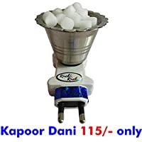 QuickBurn Steel Kapoor Dani Stand for HOME OFFICE TEMPLE GOD Puja (1)