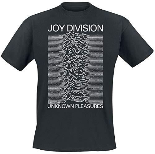 Joy Division Unknown Pleasures Camiseta Negro M