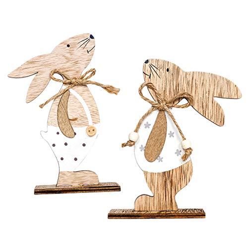 ase Kaninchen Maskottchen Anzug Fancy Dress Up Tisch Ornamente Frohe Ostern Dekorationen ()