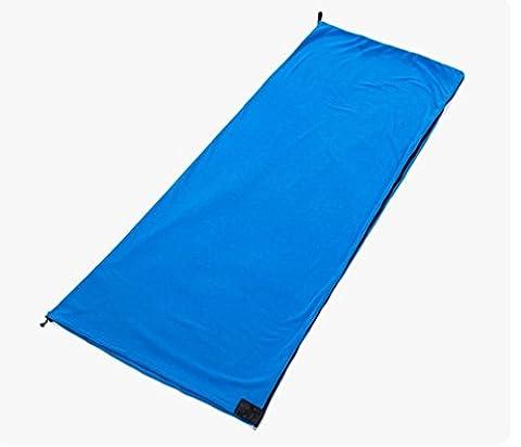 Nola Sang Peau-friendly sac de couchage doublure portable Suède drap de lit voyage 4 saison sac de couchage à l'intérieur couette anti-froid