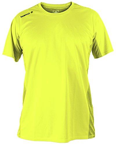 luanvi-nocaut-plus-cro-pack-de-5-camisetas-hombre-amarillo-fluor-m
