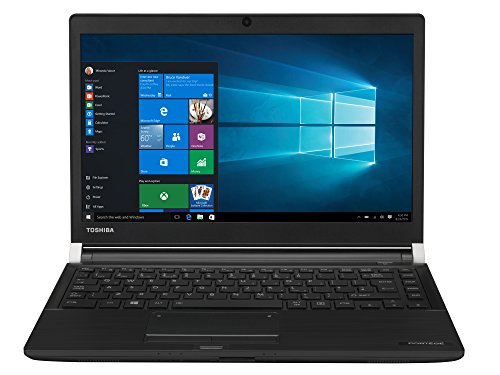TOSHIBA Portege A30-D-10L Laptop (Intel Core i5-7200U, 33,8cm 13,3Zoll Full-HD entspiegelt, 8GB RAM, 256GB SSD, WLAN, Bluetooth 4.2, Windows 10 Pro) schwarz