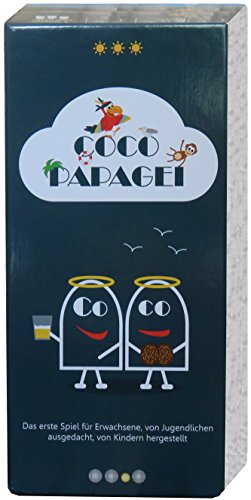 Blanc-manger Coco Coco Papagei - Kartenspiel (Deutsche Version)