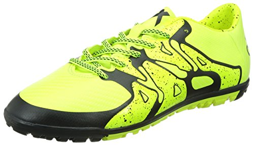 adidas X 15.3 Turf, Entraînement Football homme Jaune - Yellow (Solar Yellow/Core Black/Frozen Yellow)