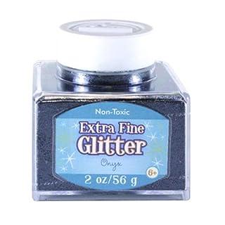 Advantus Onyx-Fine Glitter 2 Ounce, Acrylic, Multicolour