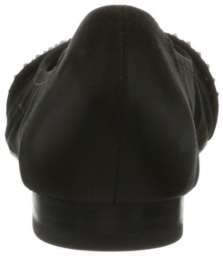 Caprice Liv-1-1 9-9-22217-22 008, Scarpe chiuse donna Nero (Schwarz (BLACK NUBUC 8))