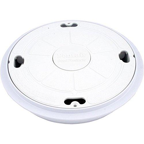 Pentair 85000400 Completa Sedile Coperchio / Ring per Admiral Pool & Spa Skimmer - Bianco