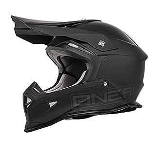 O'Neal 2Series MX Helm Flat Schwarz, M (57/58 cm), 0200F-30
